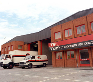 1963 - TIP TOP Vulcanising Products Limited - Founded in UK
